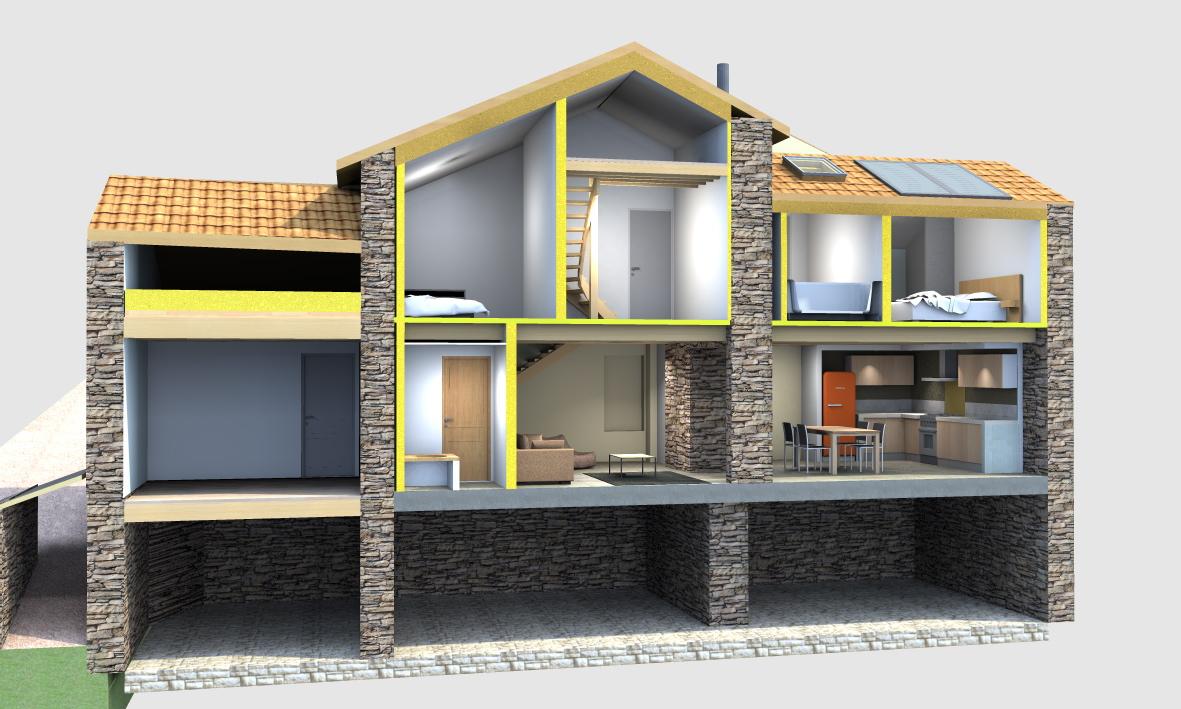 Eco rénovation à Bézis