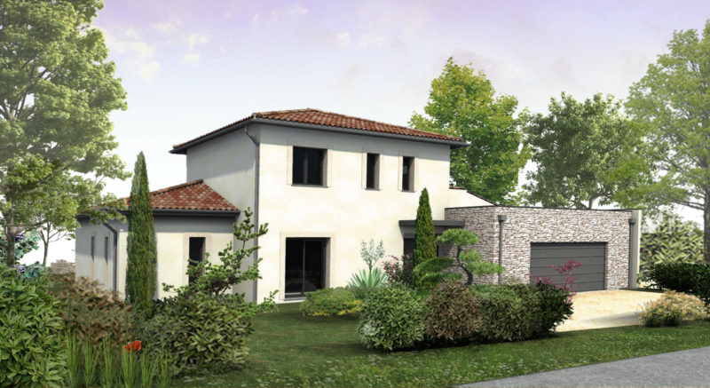 Construction d'une maison individuelle en milieu rural