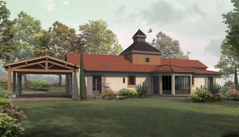 Extension d'un bâtiment classé MH